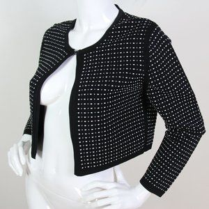 Narciso Rodriguez Mainline Knitted Cropped Jacket